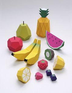 جعبه با فرم میوه و شکل آن