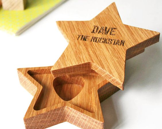 جعبه ستاره و الگوی ساخت آن
