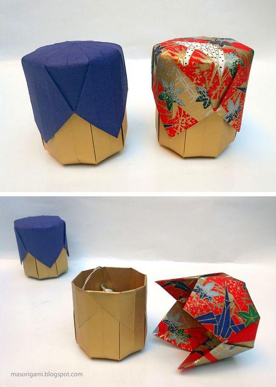 جعبه های اوریگامی و خلاقیت سازندگان آن ها
