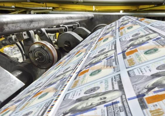 چاپ پول و روند ارائه آن