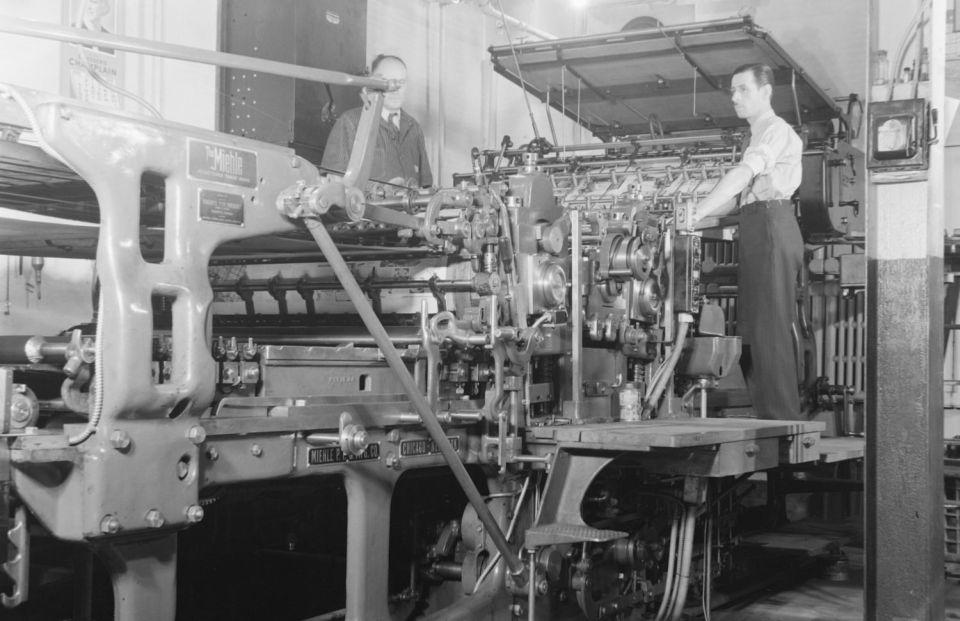 چاپخانه از ابتدای اختراع چاپ تا کنون