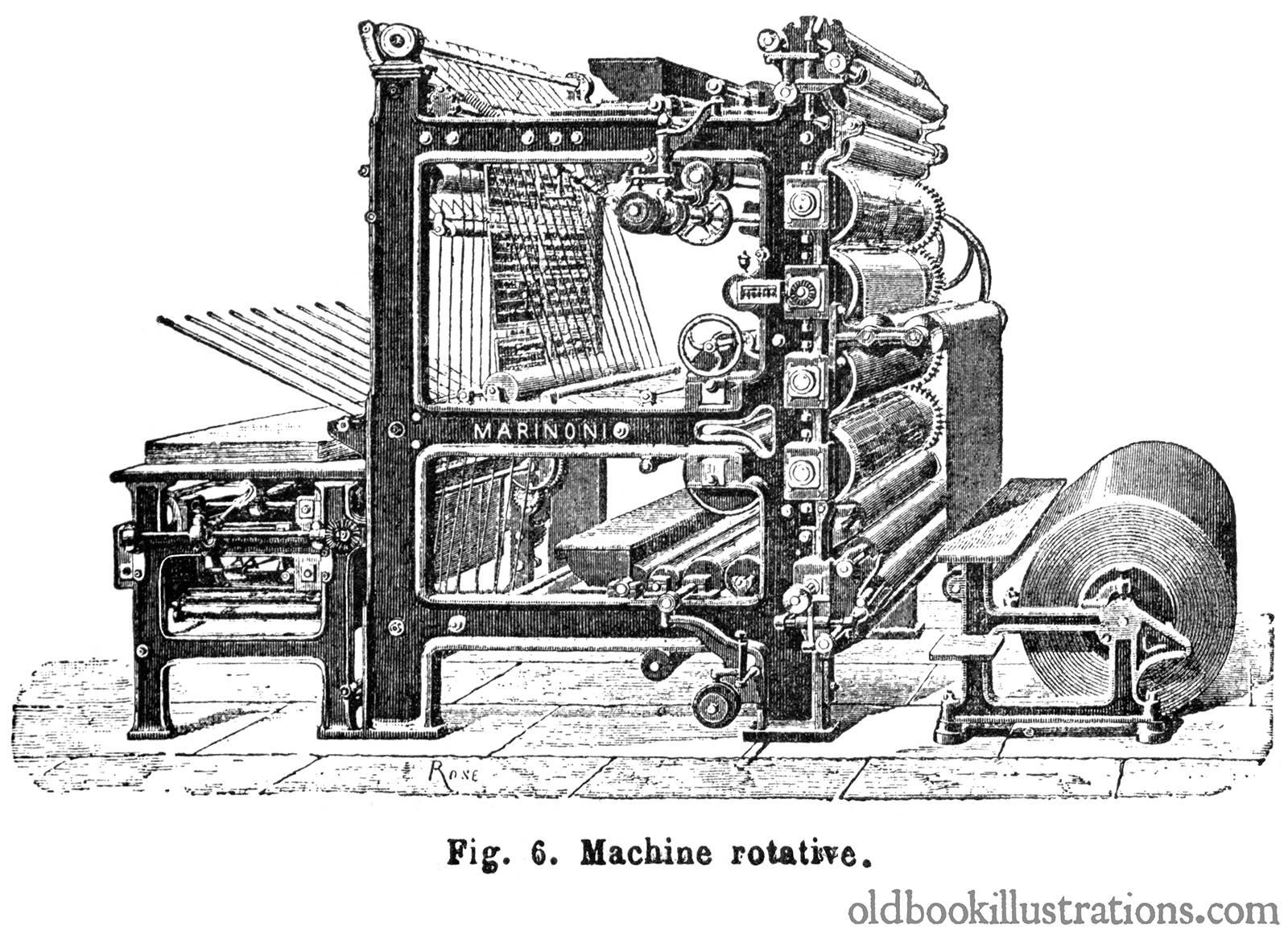 دستگاه چاپ روتاری بر چه مبنا عمل می کند
