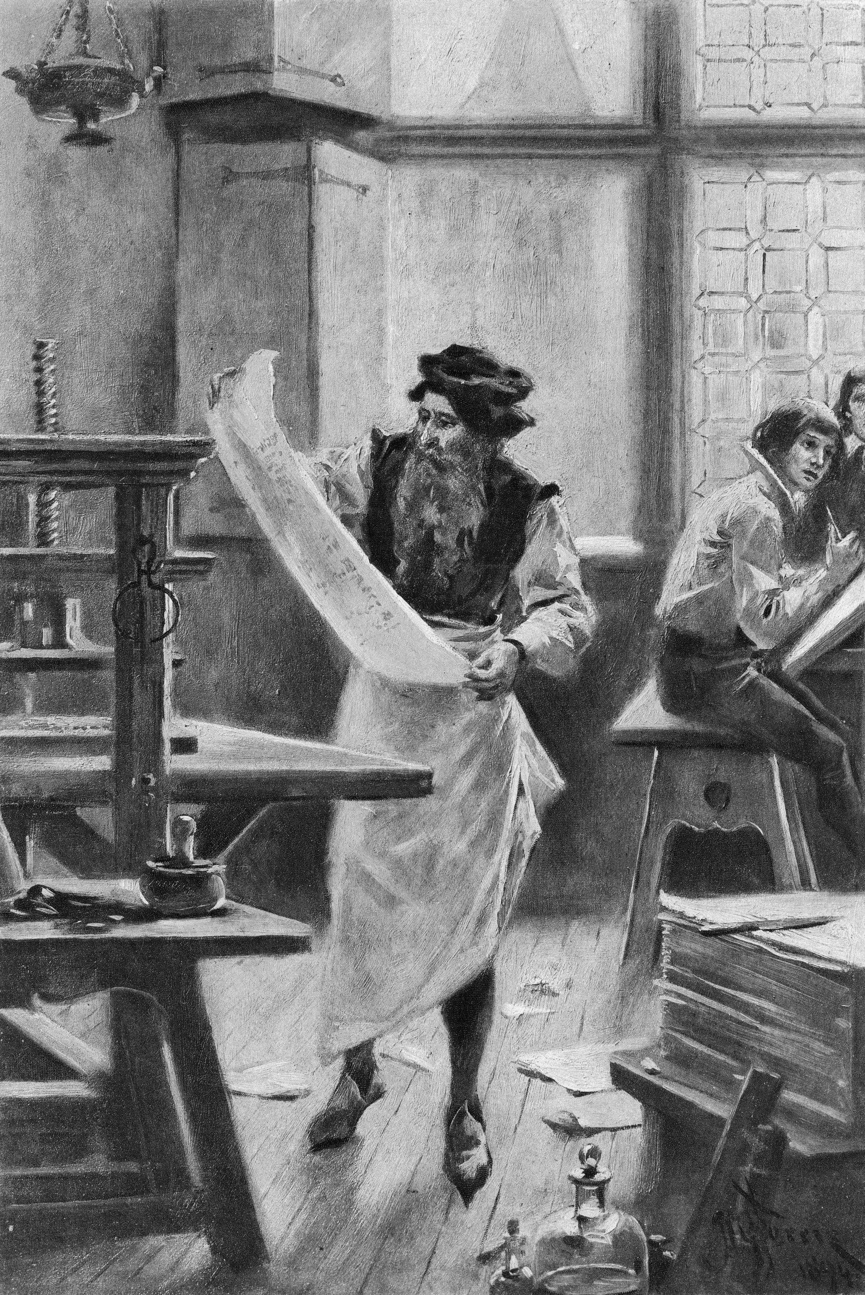 تأثیر ابداع چاپخانه بر جنبه های زندگی